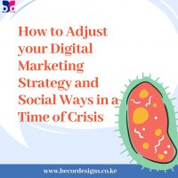 How to Adjust your Digital Marketing Strategy and Social Ways in a Time of Crisis.