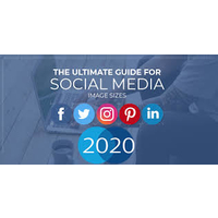 The Complete Guide 2020 for Social Media Images.